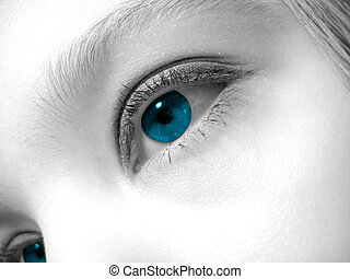 Artistic Eye - Artistic shot of a womans eye