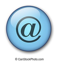 aqua button - aqua email button