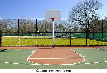 Basketball Court - Outdoor Basketball Court