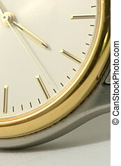 Time - Macro of face of watch