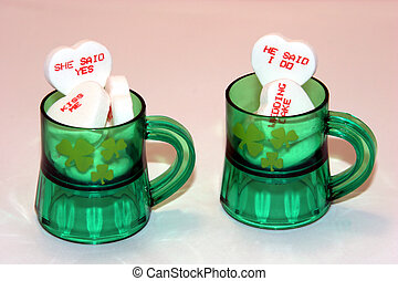 Irish Wedding Favors - St Patricks Day - Irish Wedding...