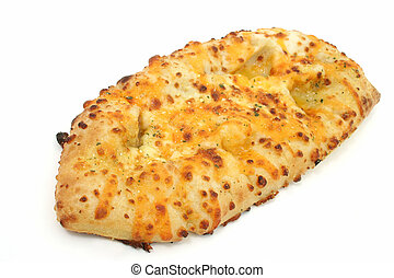 Garlic Bread - Cheesy garlic bread. Shot with the Canon 20D....