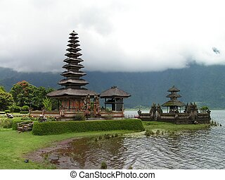 Temple By The Lake - Ulun Danu Temple in Bedugul, Bali