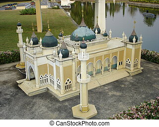Mini Siam, Pattaya - A miniature model at the Mini Siam in...