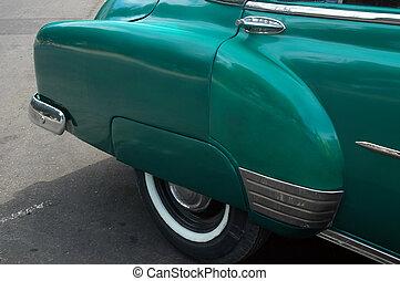 Classic Car - Cuban Car, Havana, Cuba