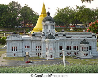 Mini Siam in Pattaya - A mini replica at Mini Siam in...