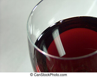 Grape juice in the glass