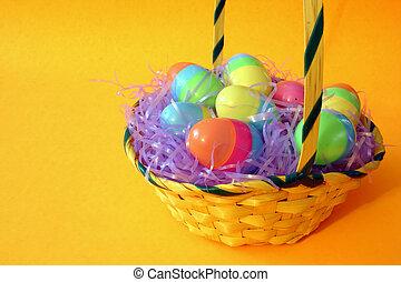 Easter Basket - Basket with Easter Eggs