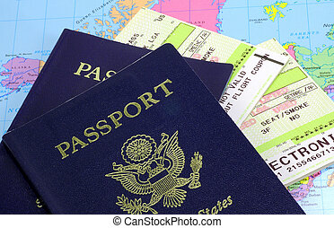 Passports and Airline Tickets