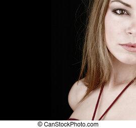 partial woman face-2 - parts of a womans face