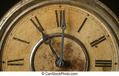 antique clock - An antique clock