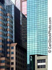 Modern architecture - Corporate buildings in Montreal