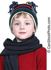 Boy Child Winter