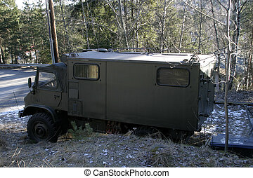 Military Truck - Military Vehicle