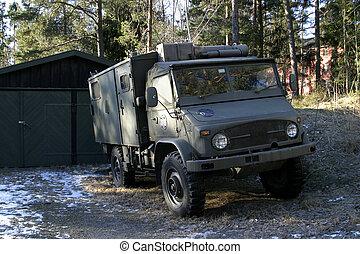 militär, fordon