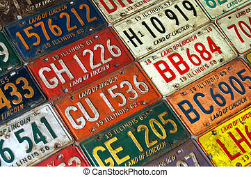 License To Drive - Photos of Old Illinois Land Of Lincoln...