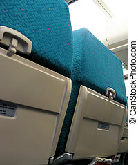 Airplane Seats - Inside the airplane