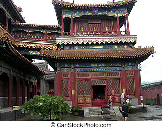 Chinese temple - traditional Chinese architecture