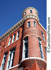 Historic Building - Historic brick building in downtown...