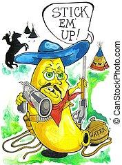 Gunslinger - banana cowboy