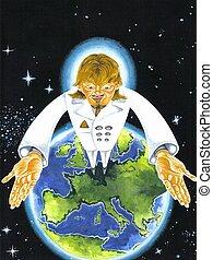 Antichrist - interpretation of the prophecised global leader