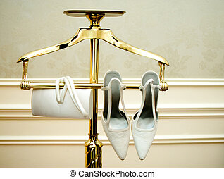 Wedding Accessories - Wedding shoes and purse