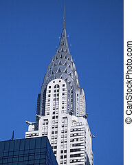 Chrysler Building - This is a shot of the Chrysler Building...