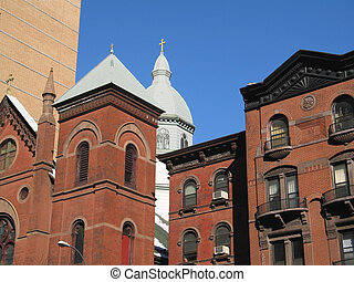 Brownstones - This is a very beautiful group of brownstones...