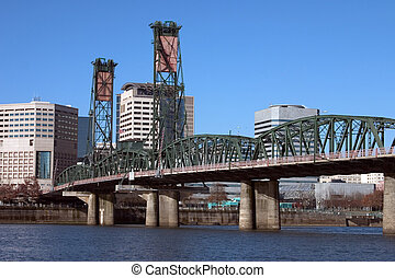 Hawthorne Bridge 2 - Another shot of the Hawthorne Bridge in...