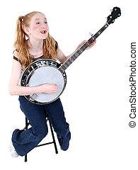 banjo, Paleto