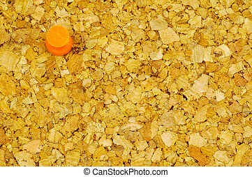 Corkboard and a Thumbtack