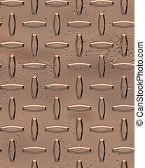 Copper Diamondplate - copper diamondplate