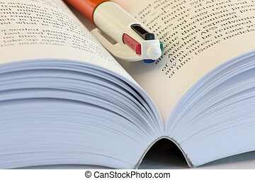 Pen and Book - Book and Pen