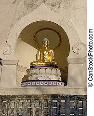 boddhisattva - Peace Pagoda Buddha Statue, Massachusetts