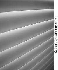 blinds - Detail of blinds ,added film grain effect