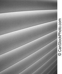 blinds - Detail of blinds ,added film grain effect.