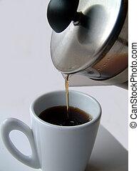 café, Interrupción