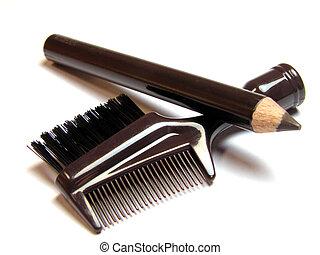 herramientas, cosméticos