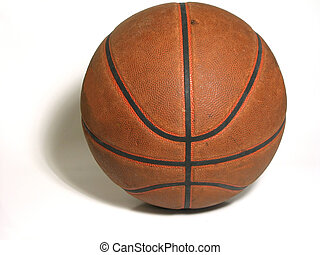 Basketball - Worn Basketball