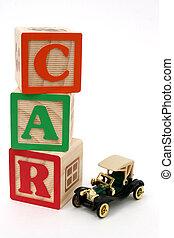 ABC Blocks Car