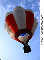 Hot Air Balloon - Hot Air Ballon taking off