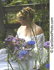 quiet bride - wedding abstract