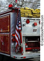 Fire Truck - Rear of a Firetruck