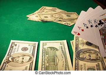 Winning hand - A winning poker hand