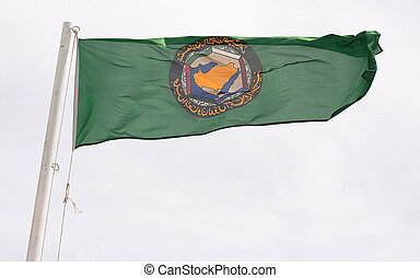 GCC flag - The flag of the Gulf Co-operation Council of Arab...