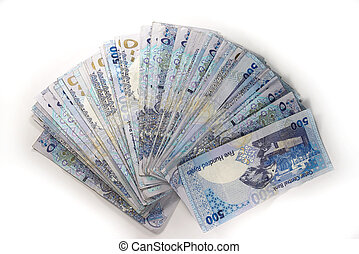 Forty-thousand riyal - 40,000 Qatari riyals, about 11,000...