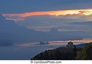 Vista House Sunrise