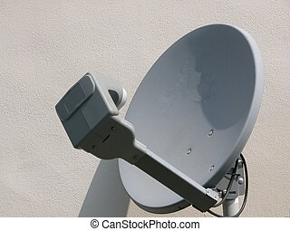 Satellite Dish - Taken from side of house