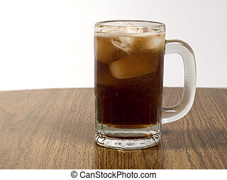 Mug of Cola - This is a shot of some fizzy cola in a mug...