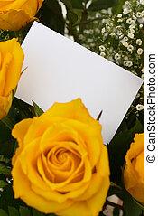 roses,  4, jaune